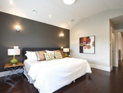 master bedroom wall color ideas. love the dark/light ...