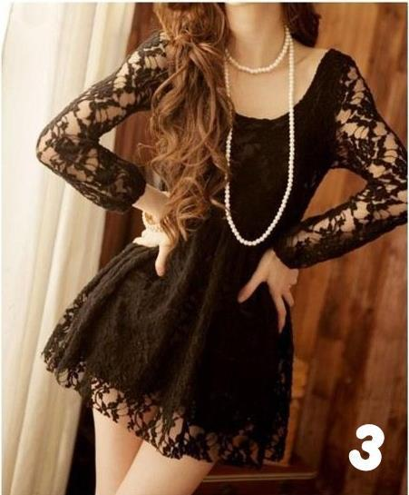 Lace, lace, lace! In black!