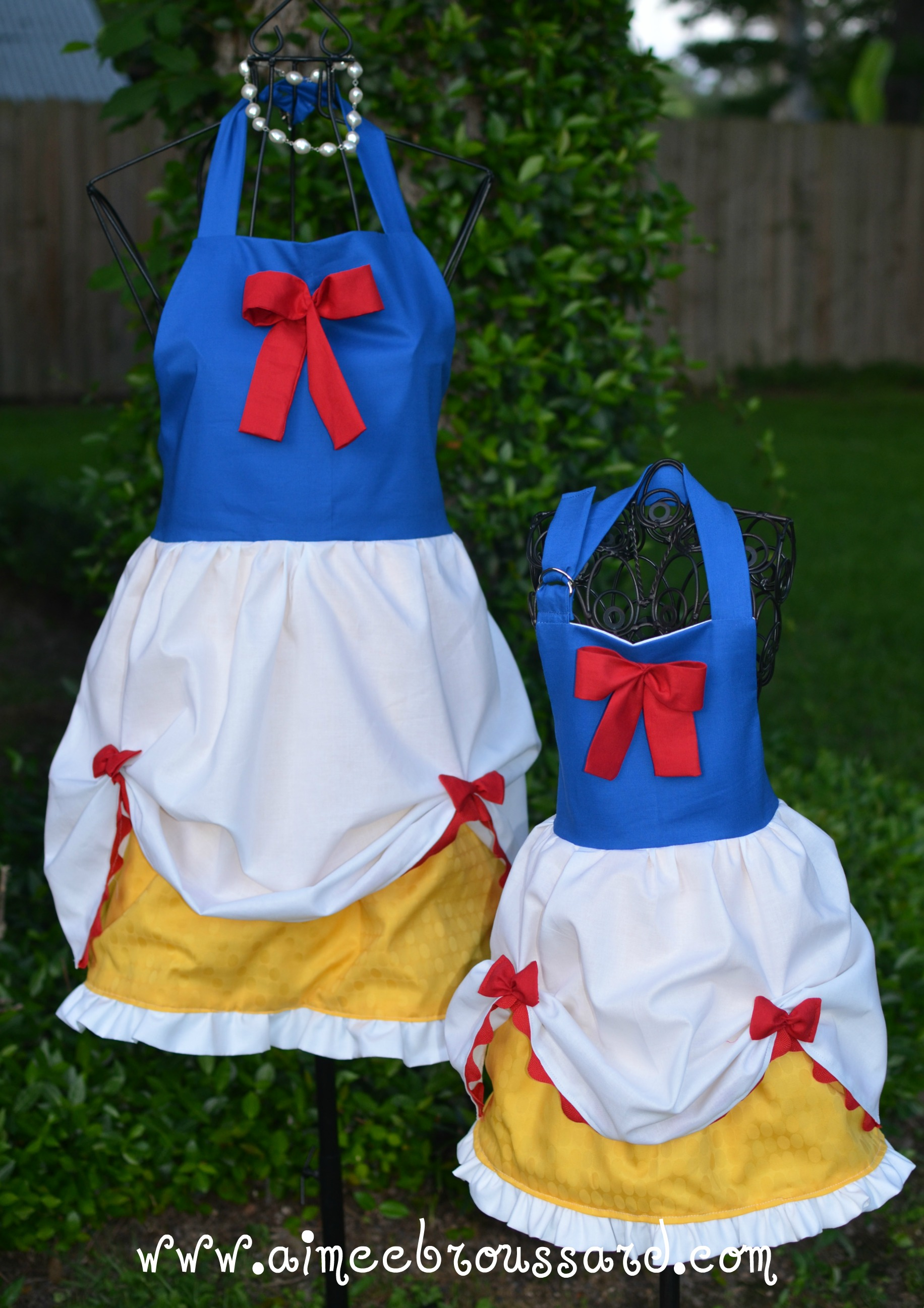 Princess aprons