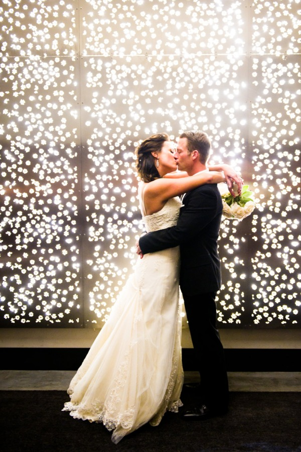 A wall of lights would make an amazing backdrop for photos