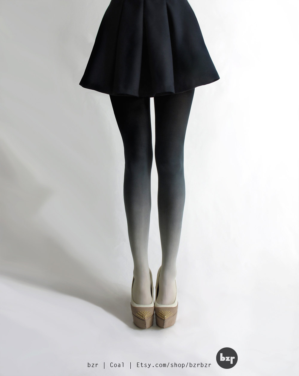 Ombre is everywhere, even tights.