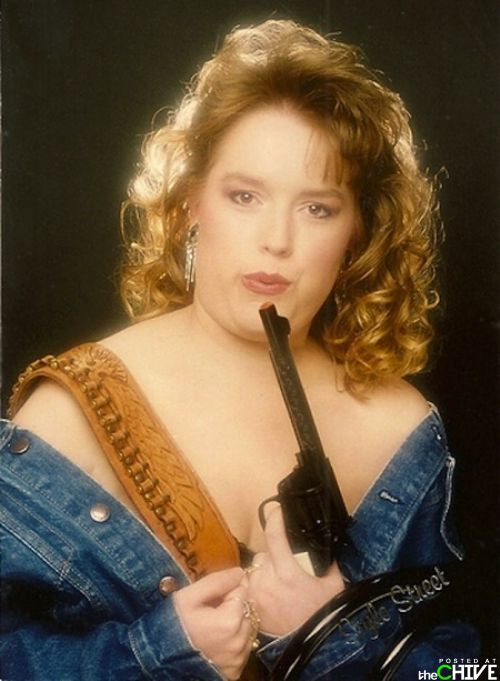 An epic collection of bad Glamour Shots. I laughed so hard I cried! FAIL!