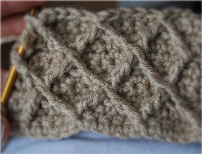 How to Crochet the Honeycomb Lattice Stitch Pattern thumbnail