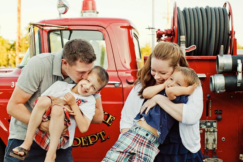 Fire trucks!
