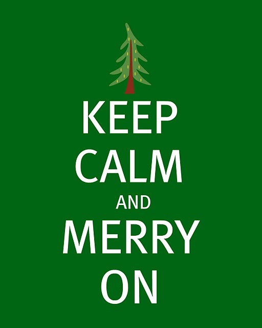 Keep calm… christmas