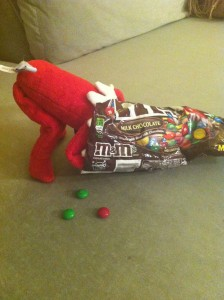 Do this with a bag of skittles