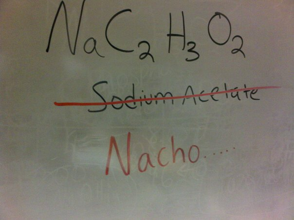 Only if you have sufferred through Organic Chemistry will ...