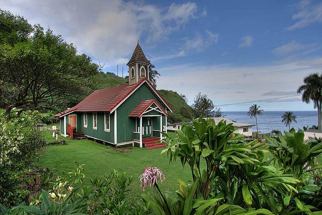 Maui country church