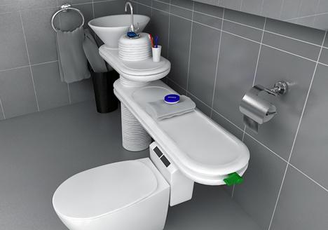 Eco Bath by Jang Woo-seok » Yanko Design