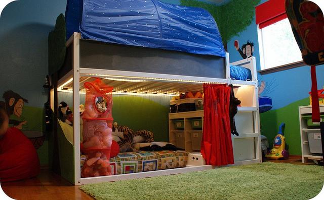 ikea- kid room + nook