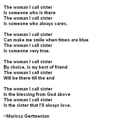 Big Sister Quotes And Poems -   Big sister and brother poems