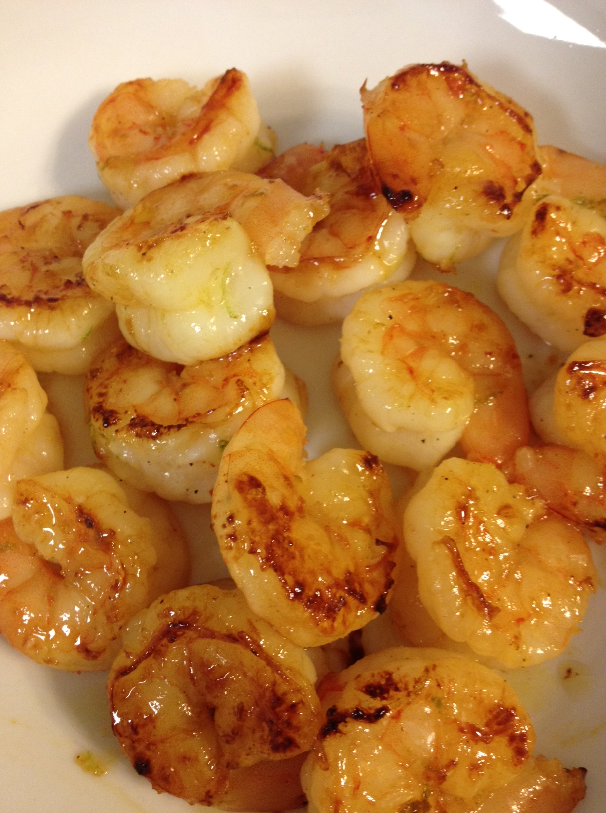 Honey Lime Shrimp. The most amazing ingredients in one bite. (Serve over brown r