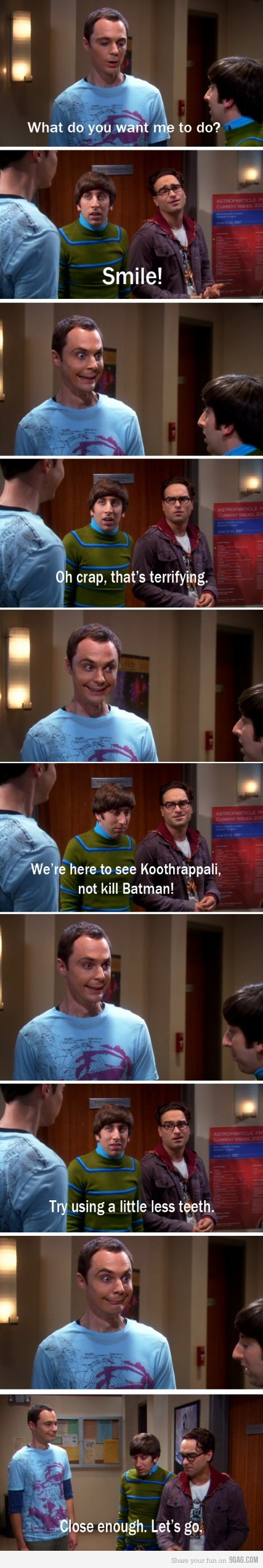 Sheldon lol