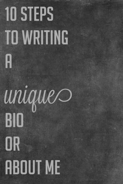 steps to writing a biography As writing a professional bio is the hottest thing since sliced bread, you best get on with it and follow these simple steps to do your personal brand proud here are the a few tips followed by a sample bio by chris brogan.