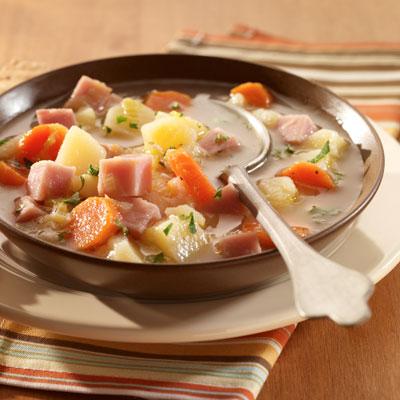 Chunky Potato & Ham Soup