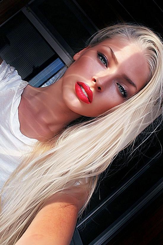 настоящие фото очень красивых девушек блондинок