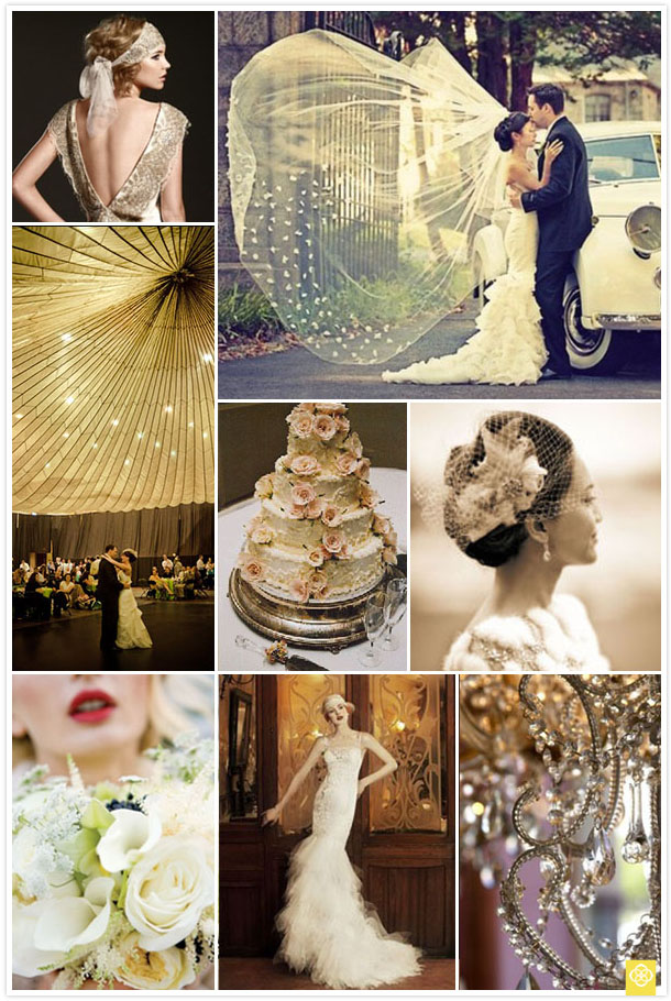 Great gatsby inspired wedding we know how to do it great gatsby inspired wedding junglespirit Images
