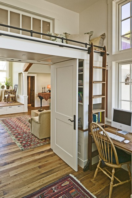 Because every dream home needs an awesome place to read…and hide! Or an emerge