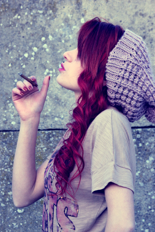 not gonna lie, as much of a pain my red hair was to upkeep..i miss it