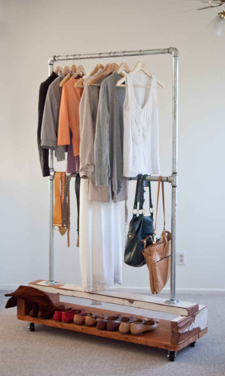 Diy Clothes Rack We Know How To Do It