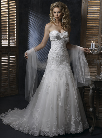 Elegant Sleeveless A-line Floor-length bridal gowns,wedding gowns,wedding gowns,