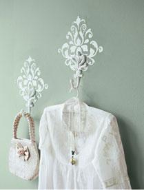 DIY kapstokhaken met ornament