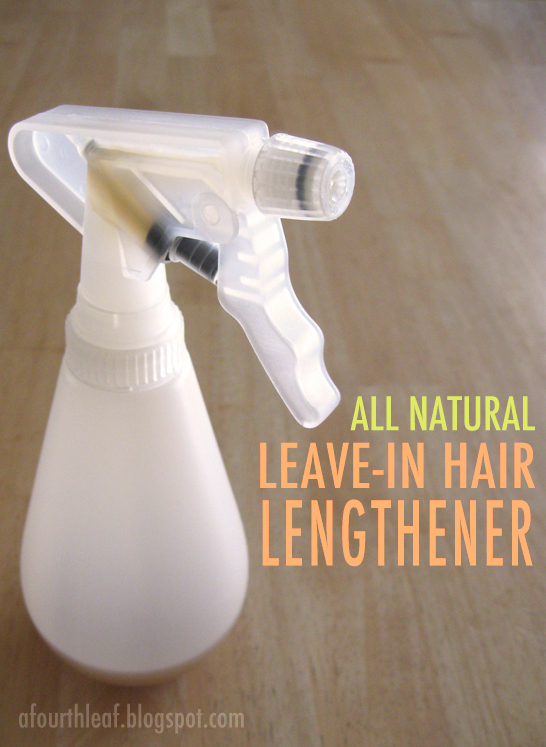 DIY All Natural Leave in Hair Growth Treatment ~~~