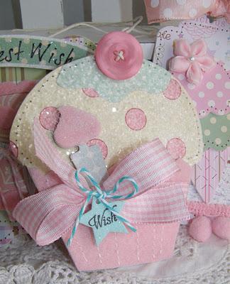 Paper Cupcake Love