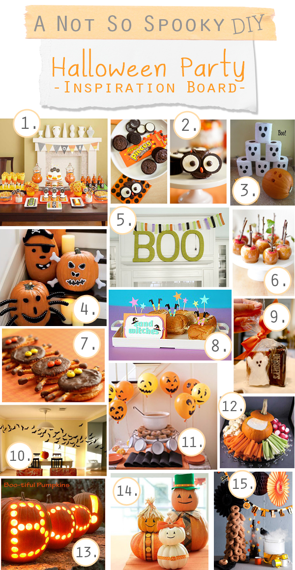 Lots of great ideas for a not so spooky Halloween