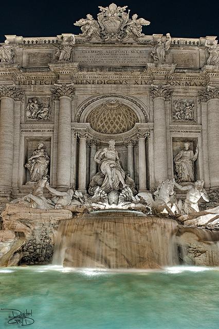 Trevi Fountain – Rome