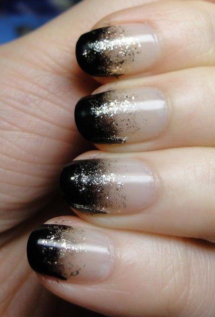 excellent glitter nails