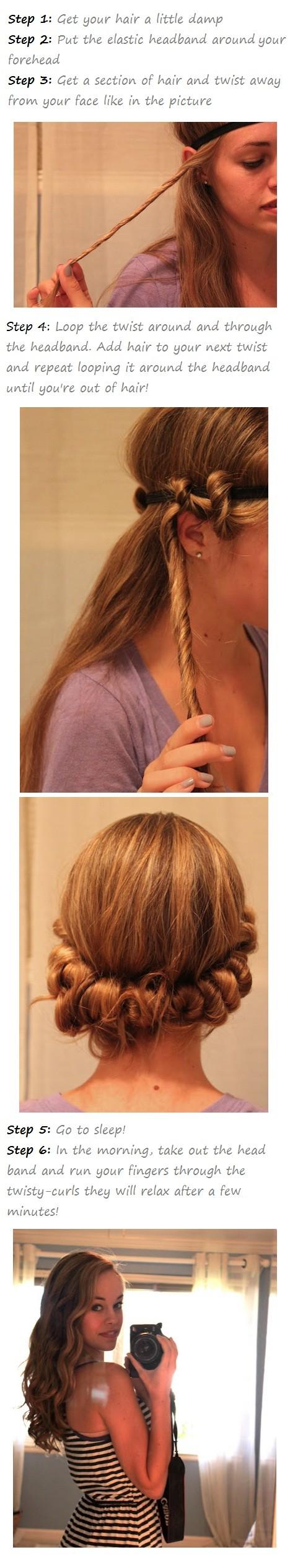 overnight wavy hair