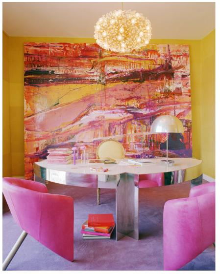 kelly wearstler's office #kelly_wearstler #office #interior design