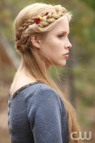 Gorgeous braids! – Claire Holt – The Vampire Diaries
