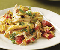 Turkey Chilaquiles — Great recipe to help you use up all that leftover Thanksgi
