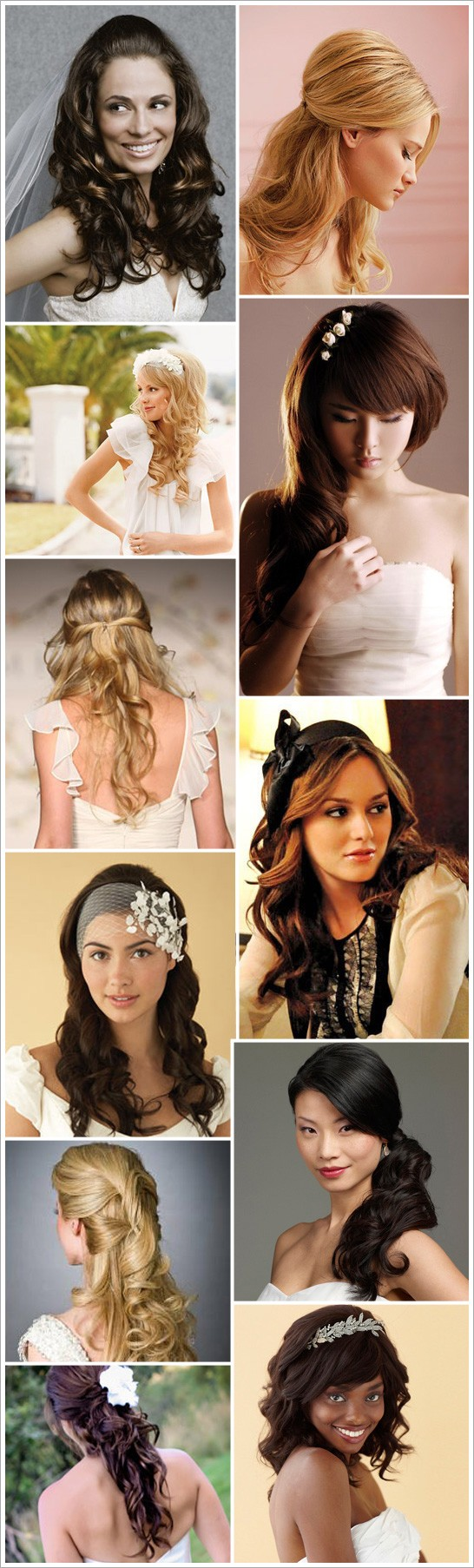 Soft, Swooping, & Feminine Styles for Long Hair. Now if only I had a clue ho