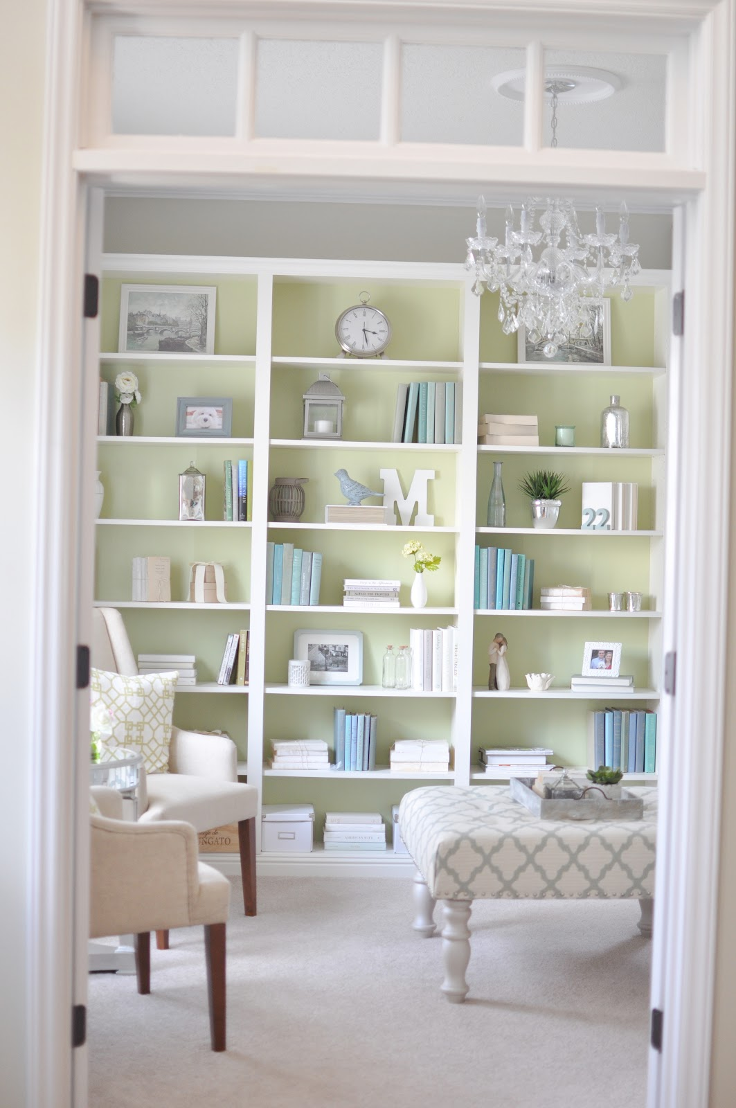 Not So Newlywed McGees: Built in IKEA bookcase