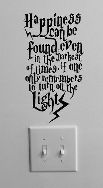 Thank you Dumbledore!