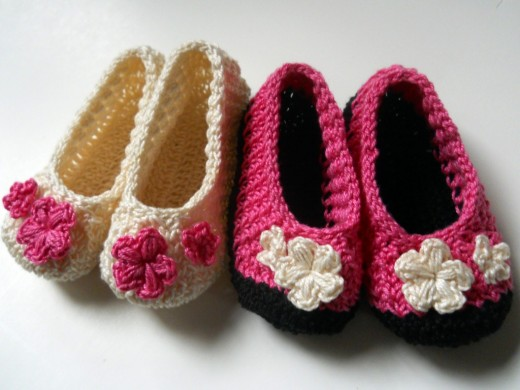 Crochet HAILE'S (Pineapple Stitch) Baby Booties Free Pattern