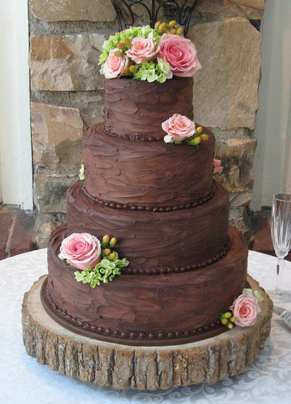 Rustic Wedding Cake | We Know How To Do It