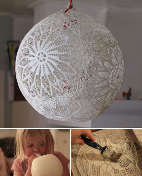 Lace doilies aren't exactly fashionable home decor any more, but if you&#8