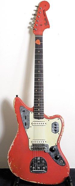 John Frusciante Collection's – This 1962 Fender Jaguar in Fiesta Red is the