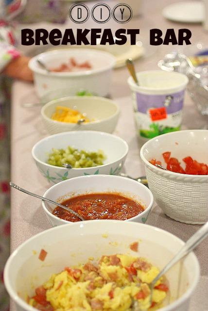 DIY Breakfast Bar – Breakfast Burritos