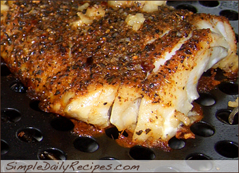 Blackened Grilled Tilapia