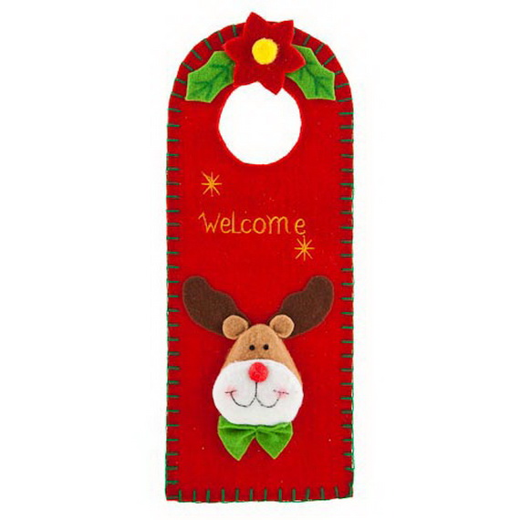 Christmas Ornament Door Hanger Ideas