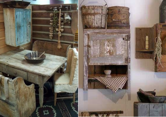 primitive home decorating 12 ideas