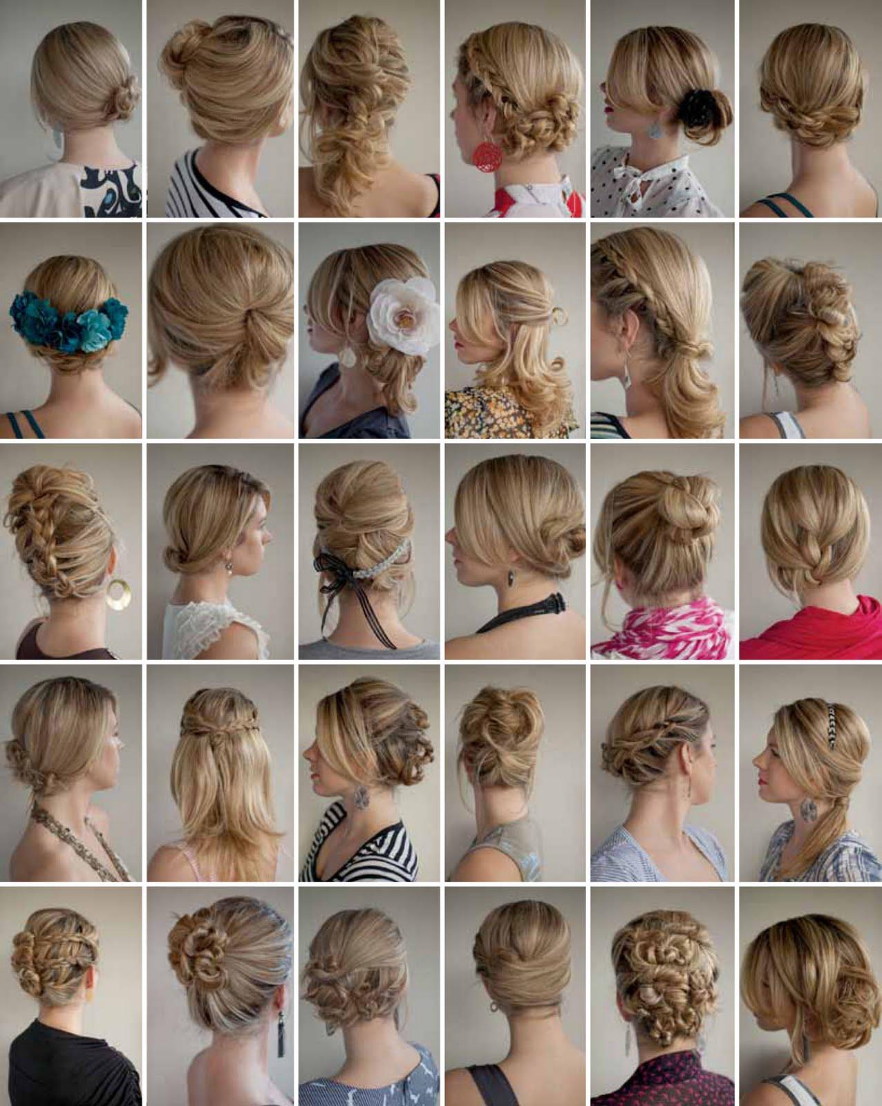 как научиться делать прически на средние волосы