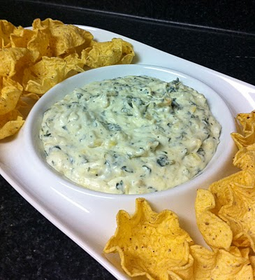 Eat Yourself Skinny!: Spinach and Artichoke Dip