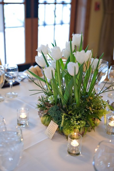Love tulips only for a spring wedding though we know