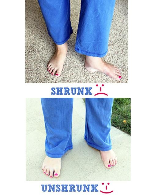 How To Un-Shrink Clothes. I had no idea this was even possible!!! – – I'm so